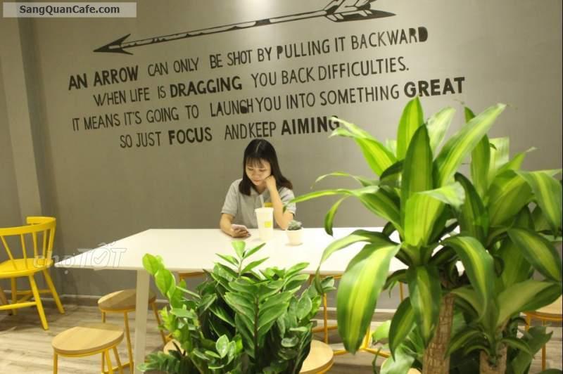Sang quán cafe thiết kế đẹp, có lượng khách quen ổn định,