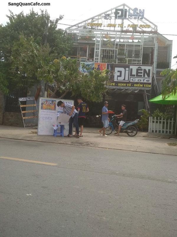 Sang quán Cafe Mặt tiền kế bên Nhà Hàng Sân vườn Lan