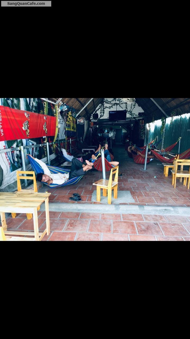 Sang quán cafe đầy đủ nội thất 180m2