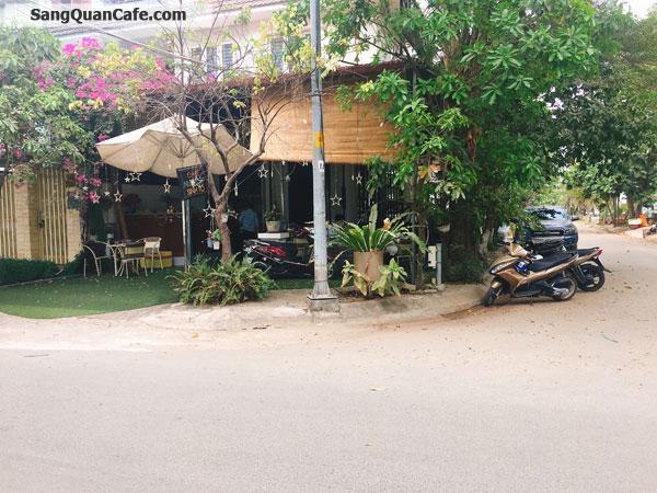 Sang quán cafe góc 2 mặt tiền ven sông đông khách