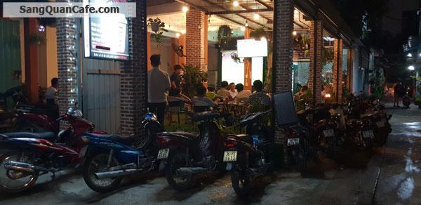Sang quán cafe góc 2 mặt tiền Lâm Thị Hố, quận 12