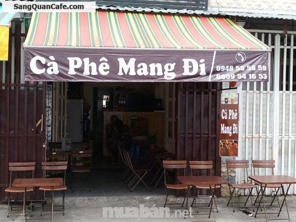 Sang quán cafe trung tâm khu ẩm thực cư xá Đài RaDa