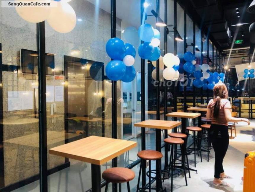 Sang quán cafe - Trà Sữa 607 đang linh doanh