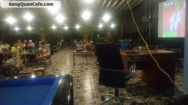 Sang Quán Cafe 500m, có nhà 1trệt, 1lầu