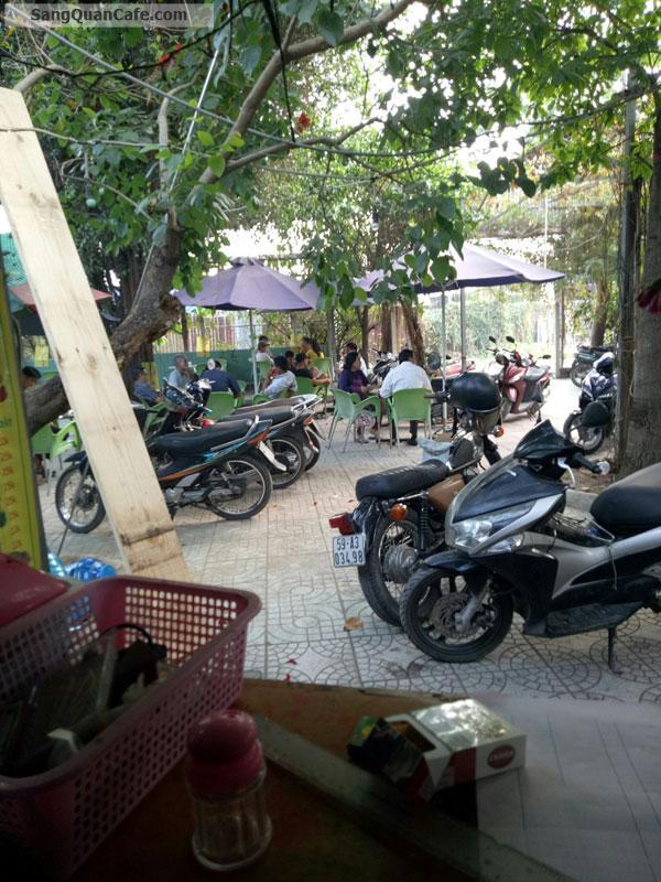 Cần sang nhượng quán cafe sân vườn góc 2 mặt tiền