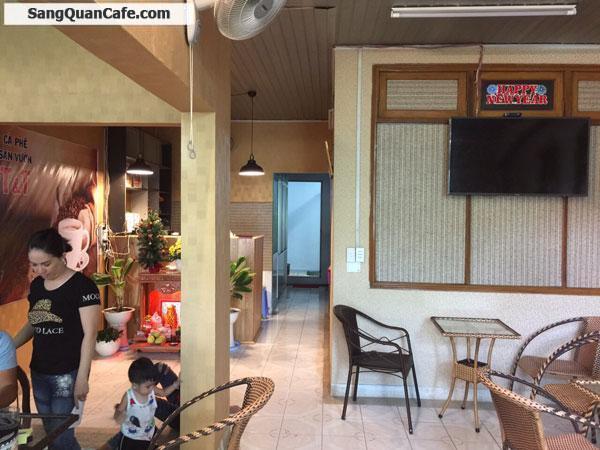 Sang quán cafe 11m x 30m