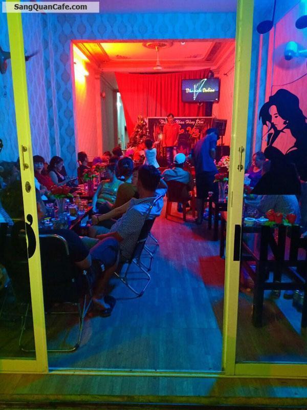 Sang Cafe Hát Với Nhau mặt bằng đẹp