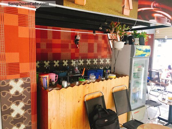 Sang mặt bằng quán Cafe Góc 2 mặt tiền