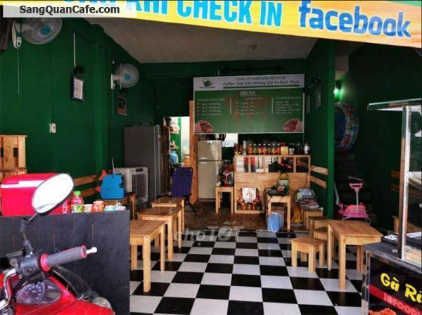 Cần sang lại quán Cafe vừa mở chưa đc 1 tháng