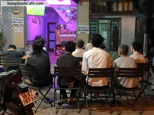 Sang quán cafe nhà nguyên căn Mặt tiền Quận 6