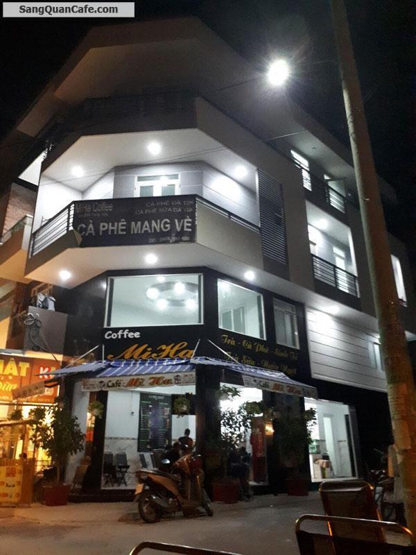Sang Cafe Góc 2 mặt tiền 6m x 20m