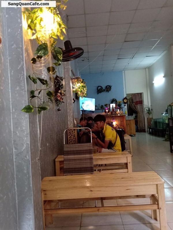 Sang quán cafe mặt bằng nguyên căn