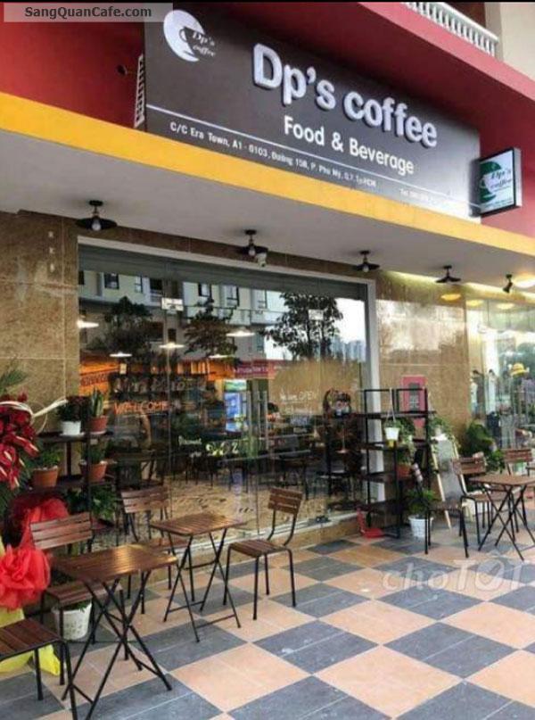 Sang quán cafe doanh thu 120tr/tháng