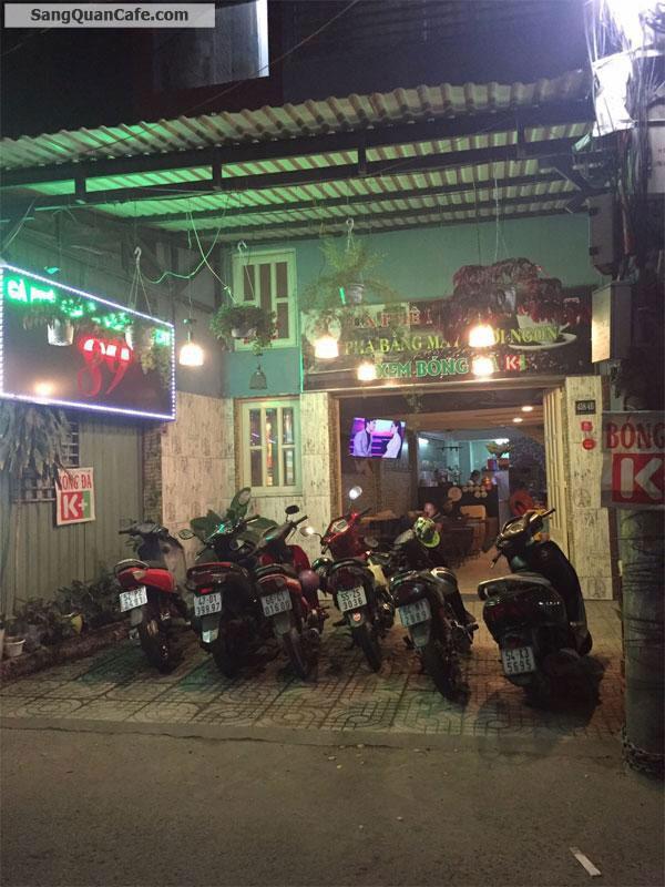 Sang quán cafe 458 Huỳnh Tấn Phát , Quận 7