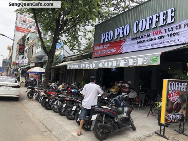Sang quán cafe mặt tiền đường lớn quận 11