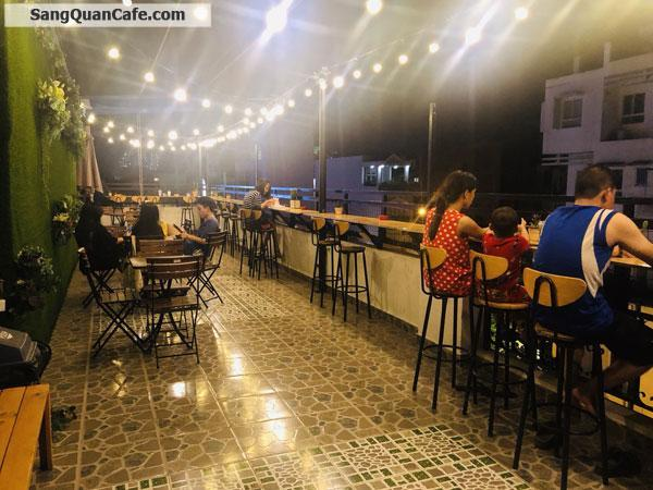Sang quán Coffee & Tea, 1 trệt 2 lầu 1 sân thượng