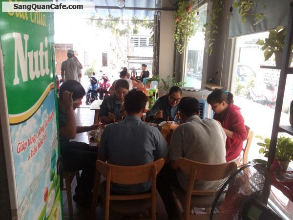 Sang quán cafe & Cơm trưa VP đang kinh doanh đông khách