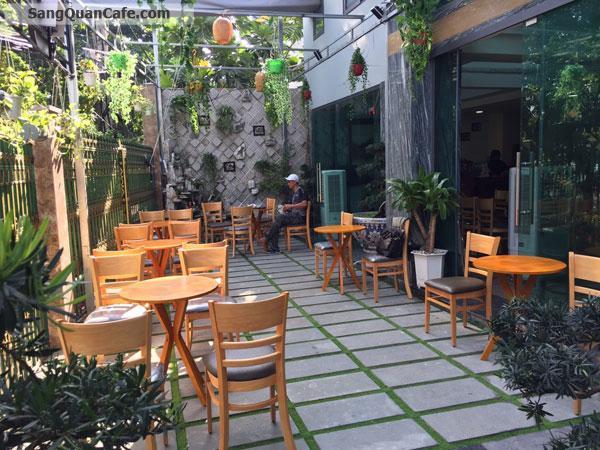 Sang quán cafe sân vườn, máy lạnh, vị trí đẹp , thoáng mát