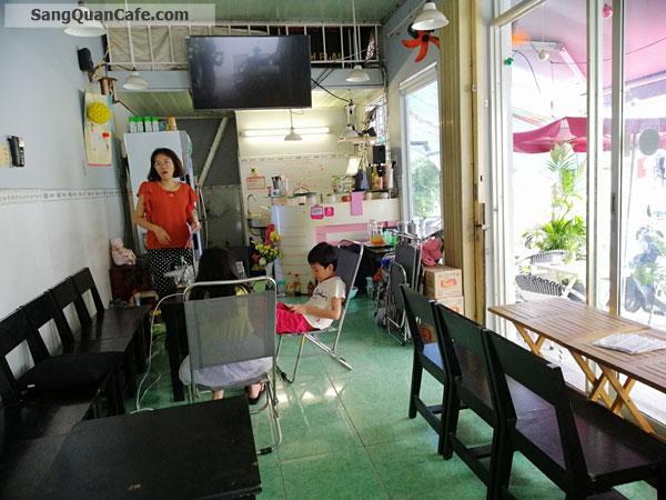 Sang Quán Cafe Góc 2 Mặt Tiền quận 7