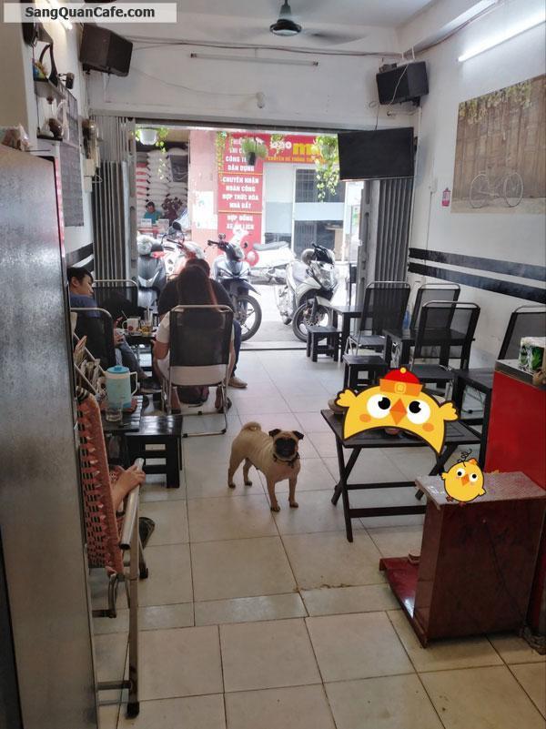 Sang quán cafe nhỏ mặt tiền đường Trần Khắc Chân