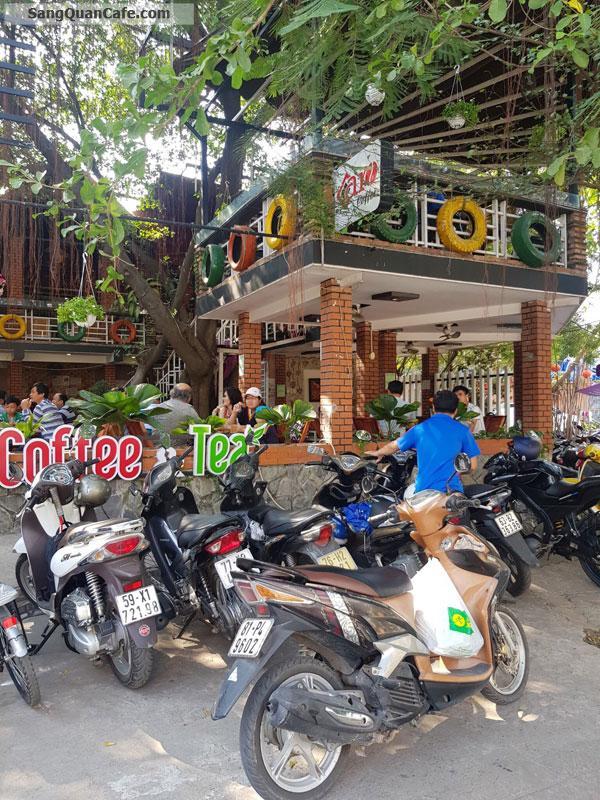Sang quán cafe sân vườn góc 2 mặt tiền