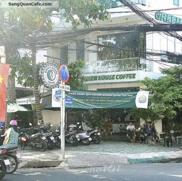 Sang quán cafe 2 mặt tiền đường quận Tân Phú