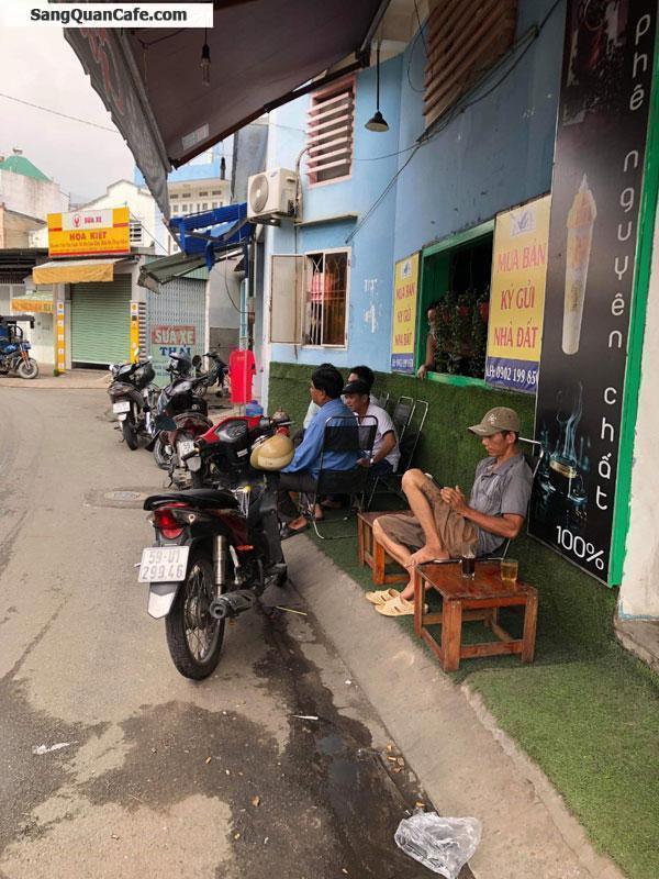 Sang quán cafe 2 mặt tiền, mặt bằng rẻ