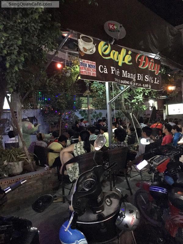 Sang quán ca phê 2 mặt tiền gần CC Dream Home