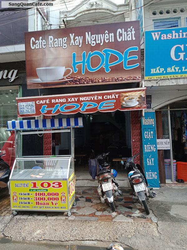 Cần sang quán cafe mặt tiền đường khu dân cư sầm uất
