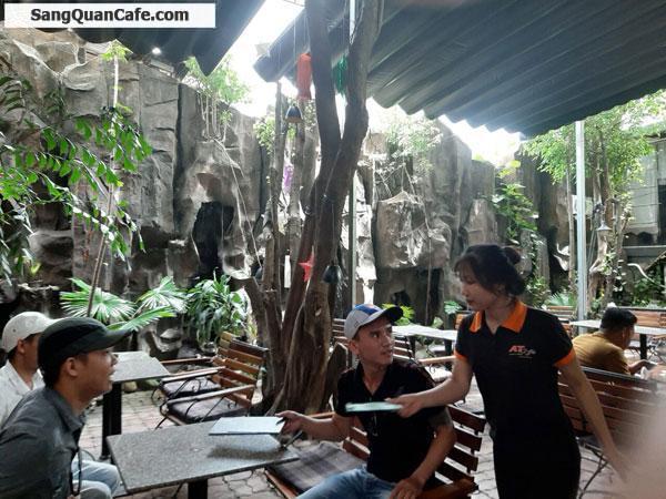 Sang quán cafe sân vườn, phòng lạnh, điểm tâm, cơm văn phòng
