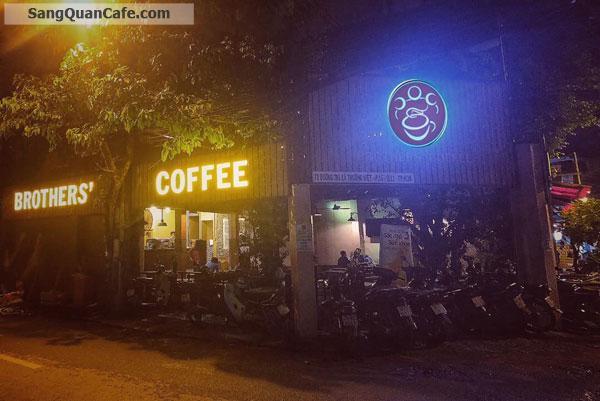Sang quán cafe góc 2 mặt tiền cực đẹp