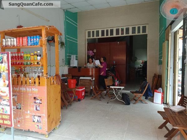 Cần sang nhượng quán cafe góc 2 mặt tiền vị trí đẹp