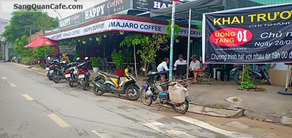 Cần sang nhượng quán cafe góc 2 mặt tiền khu dân cư đông