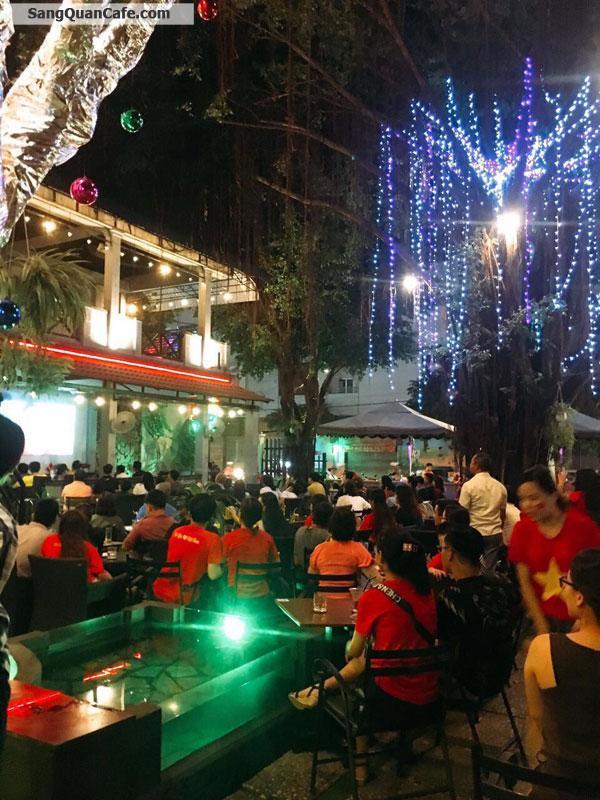Sang Quán Cafe Sân Vườn 2 Mặt Tiền Cực Đẹp