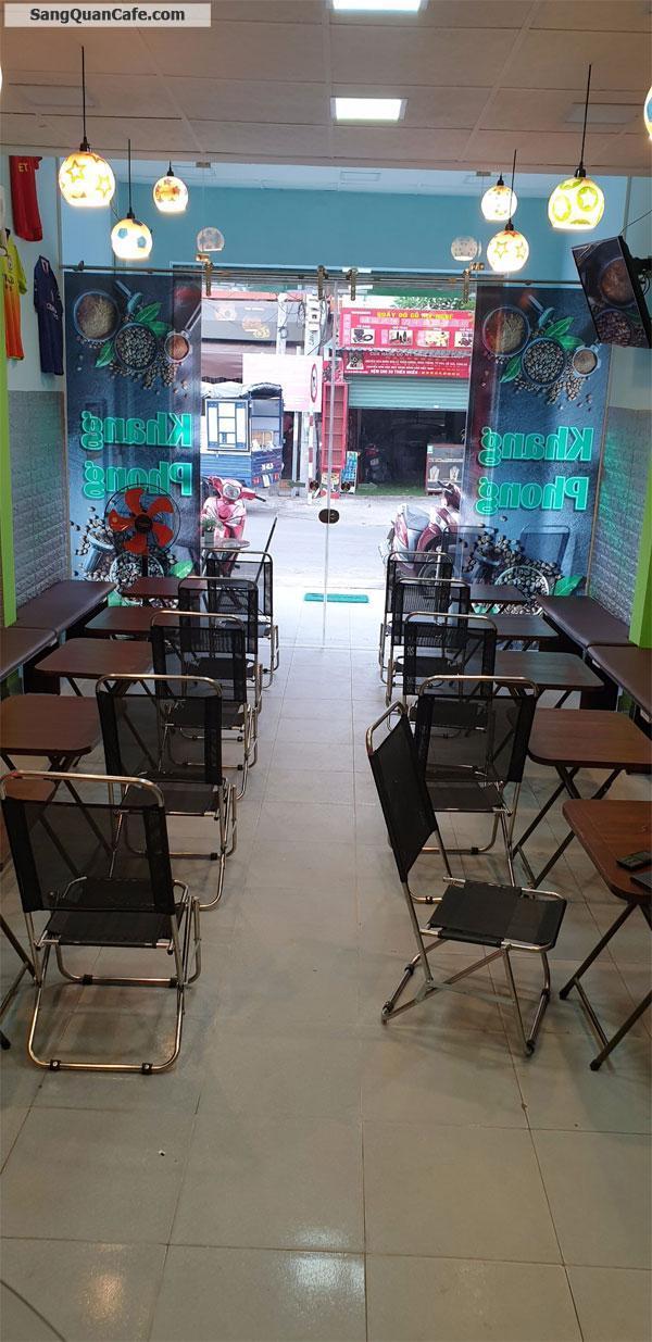 Cần sang lại quán Cafe mới hoàn thiện