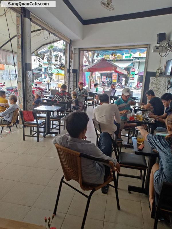 Sang quán cafe góc 2 mặt tiền quận Bình Thạnh