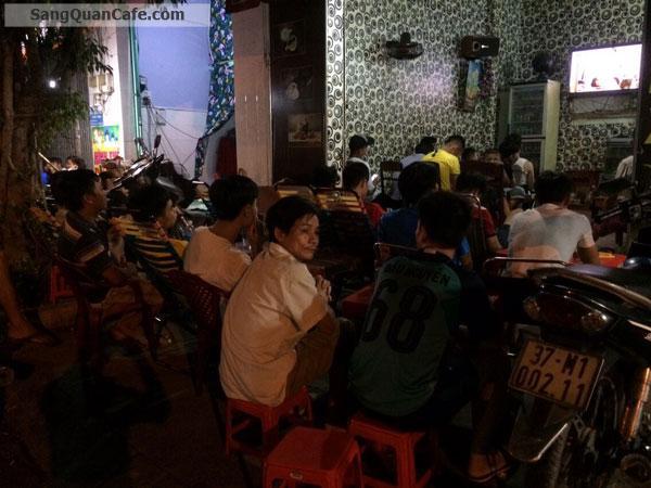 Cần sang quán cafe khu dân cư đông đúc, sầm uất