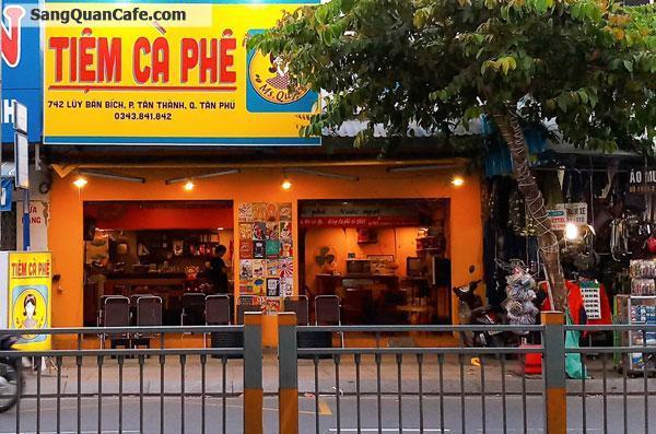 Cần sang nhượng quán cafe mặt tiền đường lớn