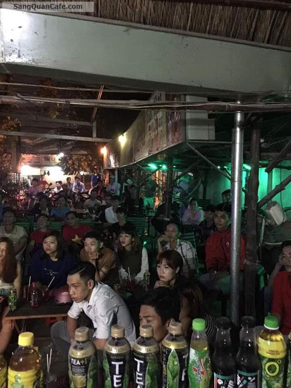 Sang Cafe Võng + Bóng Đá DT : 300 m2 , MB 4 tr/tháng