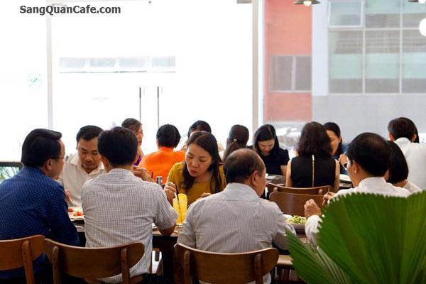 Sang Lại Quán Coffee & Bakery Ngay tòa nhà QTSC 9