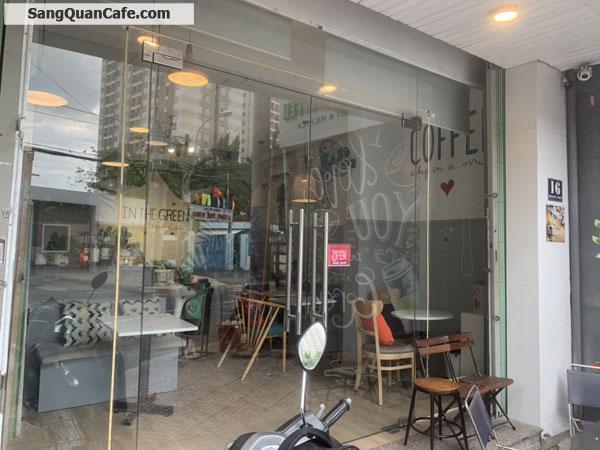 Sang gấp quán cà phê trà sữa full nội thất có lầu