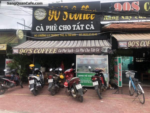 Cần sang gấp quán cafe Mặt tiền Nguyễn Văn Bá.