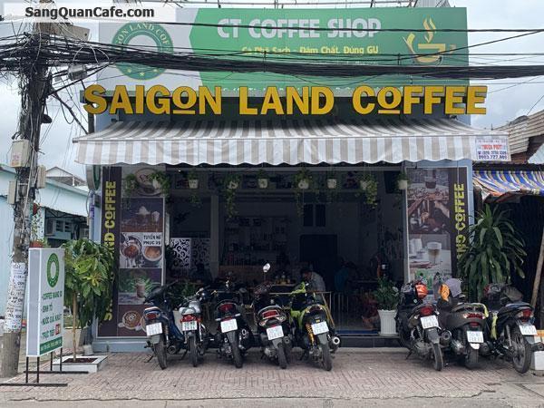 Sang lại quán coffee đầu tư mới 100%