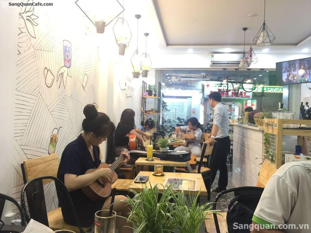 Sang nhượng quán trà sửa + cafe Quận Tân Bình
