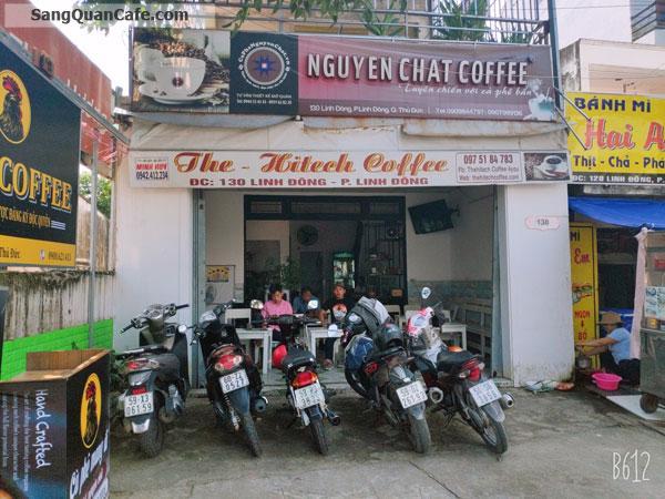 Cần sang gấp quán cafe Mặt tiền Linh Đông