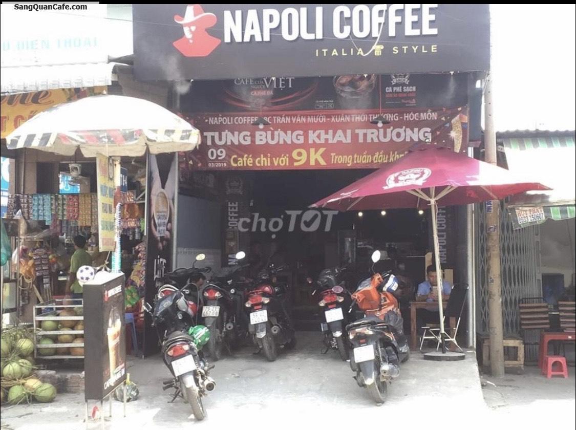 Sang nhượng quán cafe Napoli ở Hóc Môn