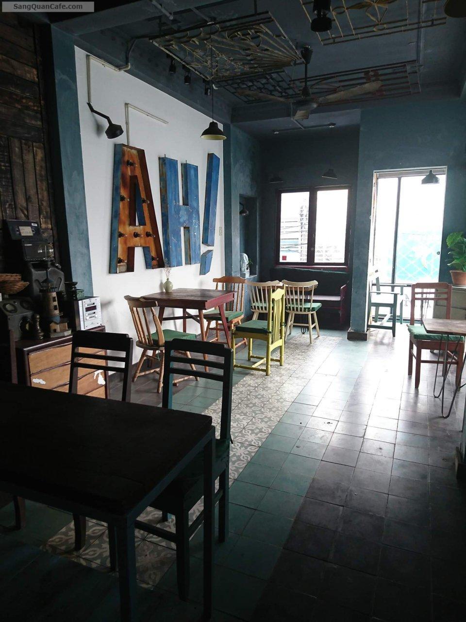 Sang quán cafe giá rẻ 2 mặt tiền đẹp