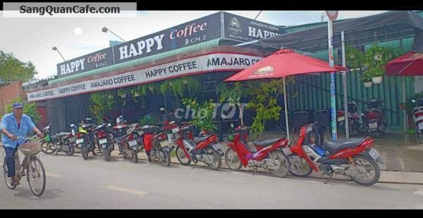 Cần sang quán Cafe 2 mặt tiền, quán mới 100%