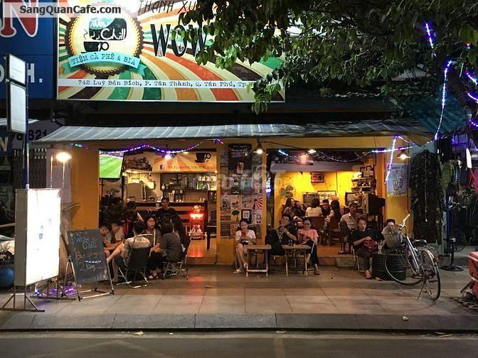 Cần sang gấp quán Cafe & Bia úp ngược Retro