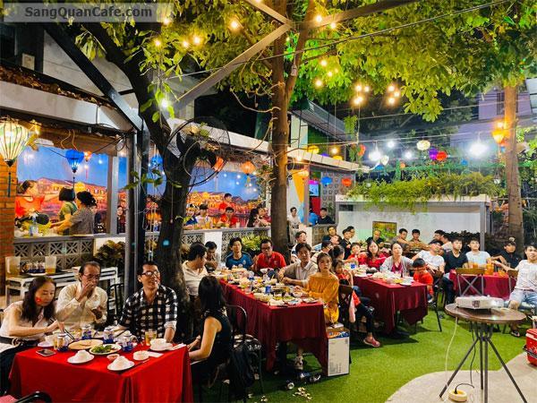 Sang Cafe Sân Vườn 300 m2 , Giá thuê 20 tr